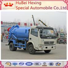 Mini Dongfeng 3cbm vacuum sewage suction truck hot sale