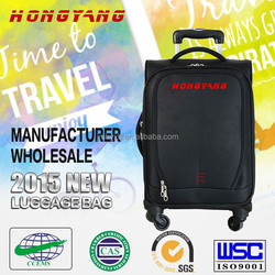 China manufacture travel house 4 wheels,teenage school bags,soft 4 wheels luggage