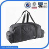 Wholesale black sports foldable travel bag