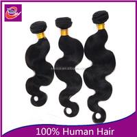 Malaysian cheap halo ponytail body wave malaysian human hair sew in weave