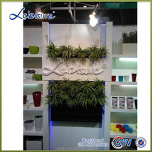PP plastic type vertical planter, wall plant pots, indoor plant wall