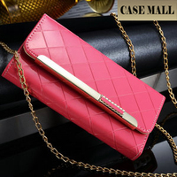 New arrival mobile phone accessory cell phone PU Lady wallet case for iphone 6plus