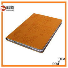 Factory wholesale price hot selling smart cover custom leather stand case for ipad air