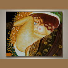 2014 New Product Nude lady on canva