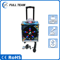 cheap with trolley ,display best quality hifi portable speaker to enjoy music