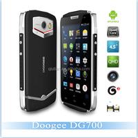 Doogee DG700 IP67 waterproof antishock smartphone MTK6582 Quad core Android 4.4 1/8GB 3G Smartphone