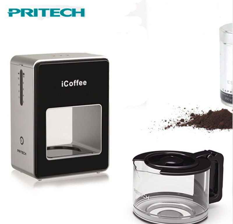 Icoffee Electric Coffee Maker : Durable Top Quality Portable Pritech Kk-018 Icoffee Electric Coffee Maker Machine Black Coffee ...