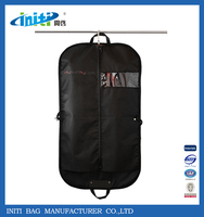 2015 New Products Hot Customed Logo Foldable Garment Bag