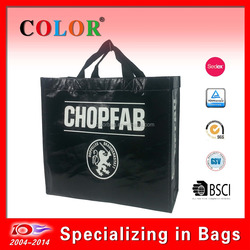 Factory sale high quality ECO cheap RPET shopping bag with logo printing