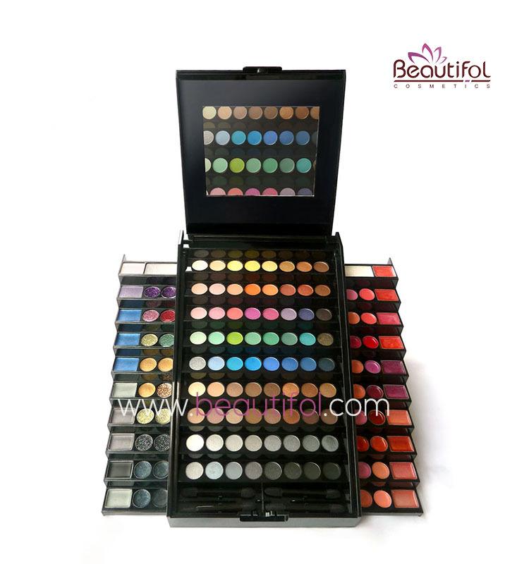 Professional Big Big Eyeshadow Makeup Palette Make Up Set