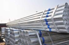 Soldadura astm a53 gr. b acero al carbono galvanizado tubo redondo para andamio aceite de tubos de acero suave gi y tubos de acero disfrutando ventas rápidas