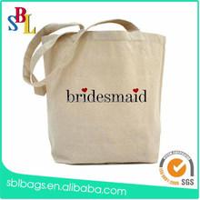 Custom printing Beach Canvas Tote Bag for Shopping