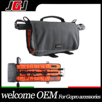 OEM Many mini pouch storage bag for gopro hero 4 4 sesion 3+ action camera cam accessories flex carrying bag