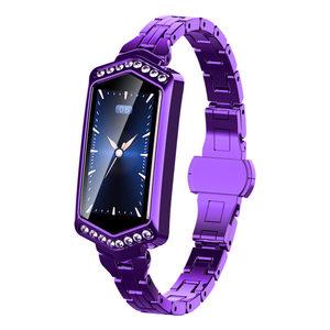 2019 blood pressure women watch Heart Rate Monitor Pulse Relogio 숙 녀 smart bracelet wrist watch IP67waterproof sport watches