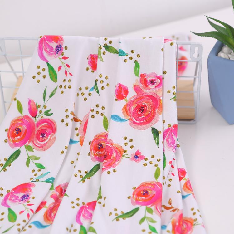 Качество oeko tex Стандартный 100 органический бамбук ткань одежда для рубашки