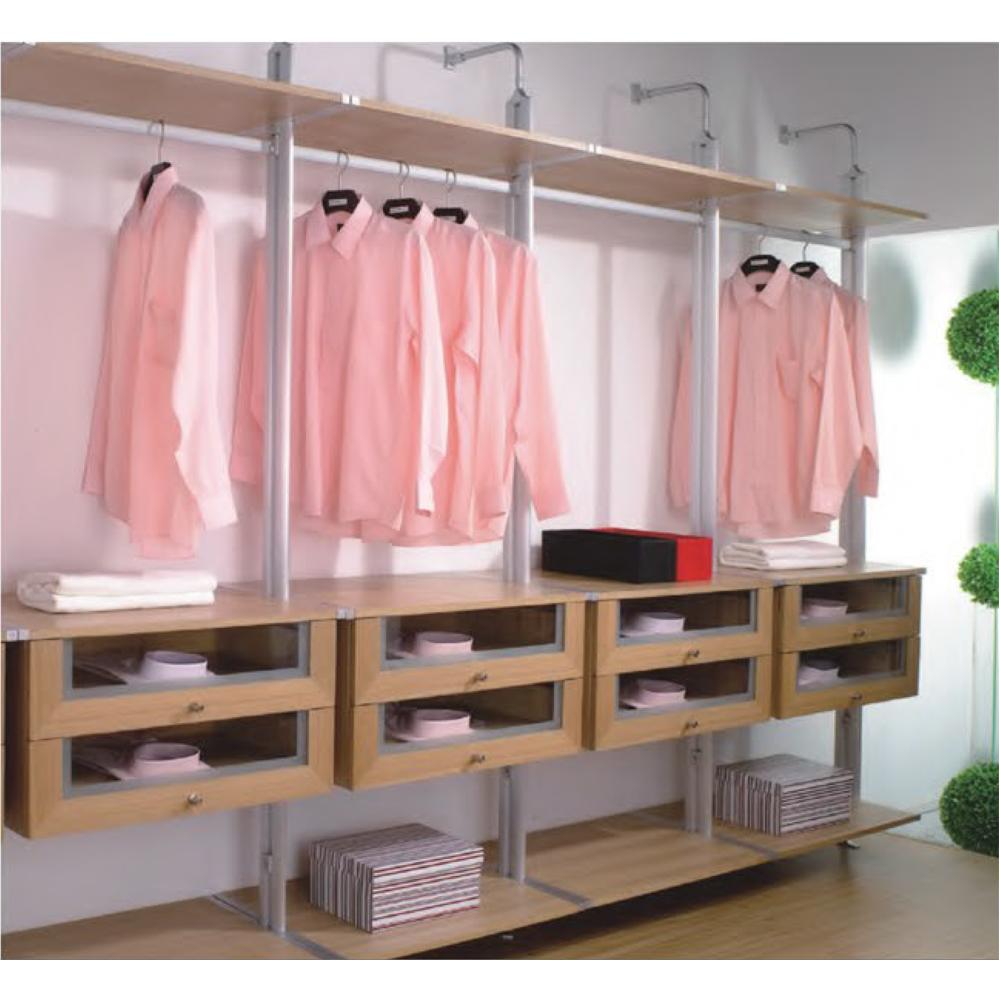 HS-W374 trung quốc công nghiệp almirah quảng châu chuyên nghiệp phòng ngủ 4 ngăn kéo tủ quần áo nhà sản xuất