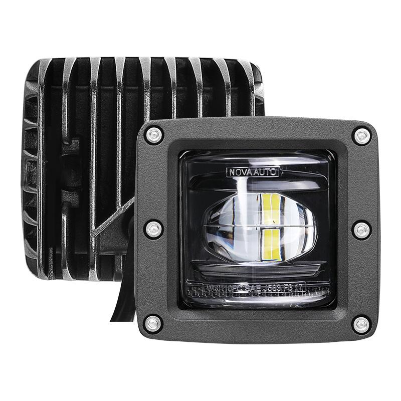 SAE J583 Semi Camion Fuori Strada Dell'automobile LED Della Luce di Nebbia