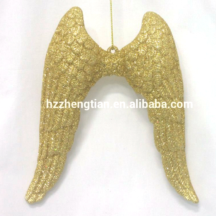 De plástico de brillo alas de Ángel de Navidad para la venta