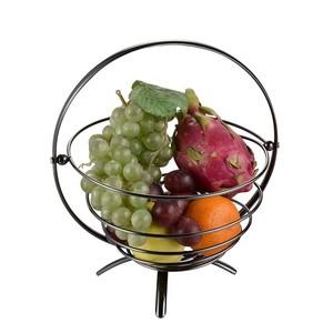 홈 장식 Collapsible Metal 선 과일 Basket 와 Handle