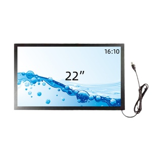 22 inch IR touch frame multi 10 points infrared touch screen panel overlay kit
