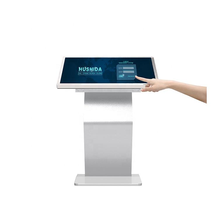 32 pouces centre commercial kiosque écran tactile tactile mince contrôleurs d'affichage
