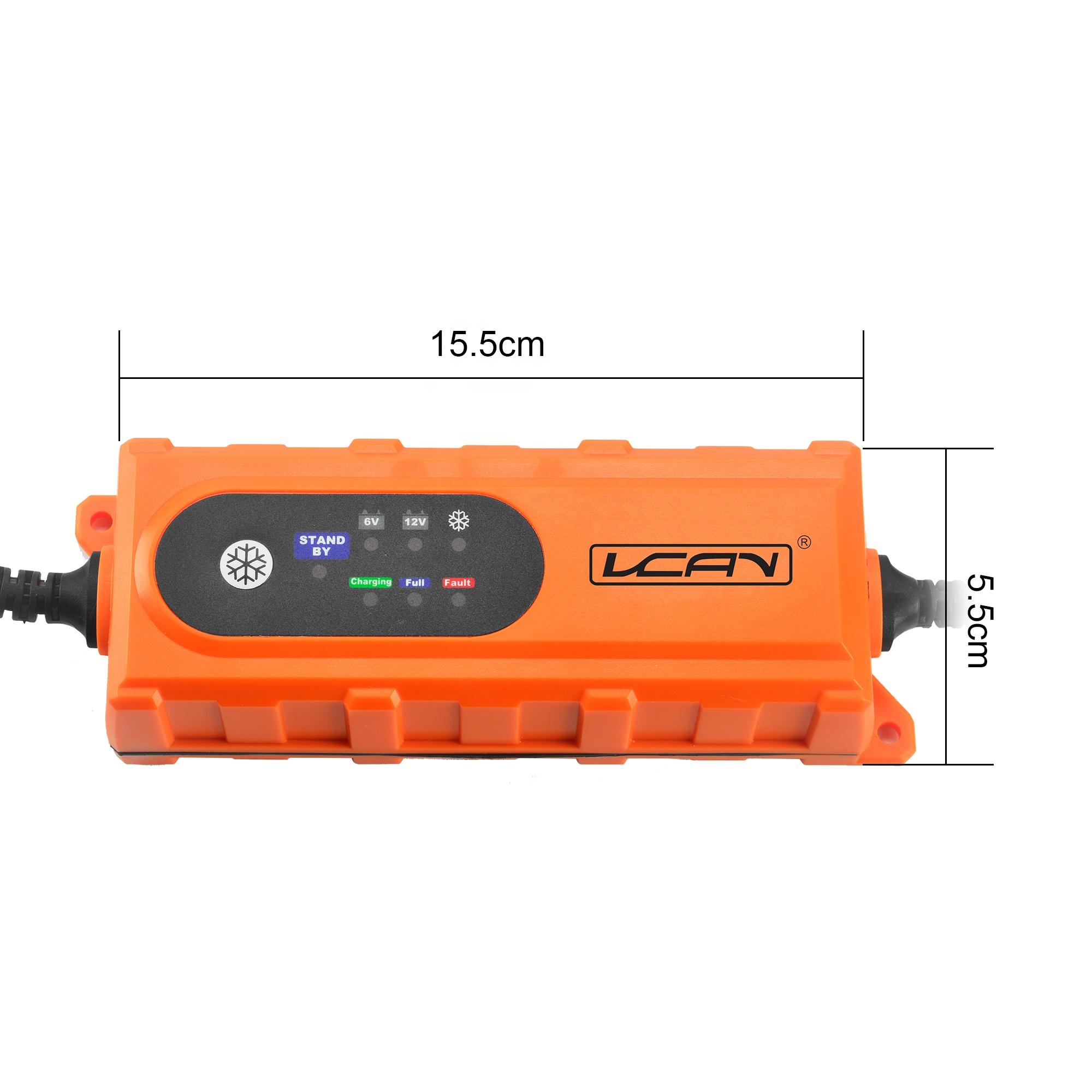 12V 지능형 납산 배터리 충전기, 1.2/120Ah 배터리 충전기 전원