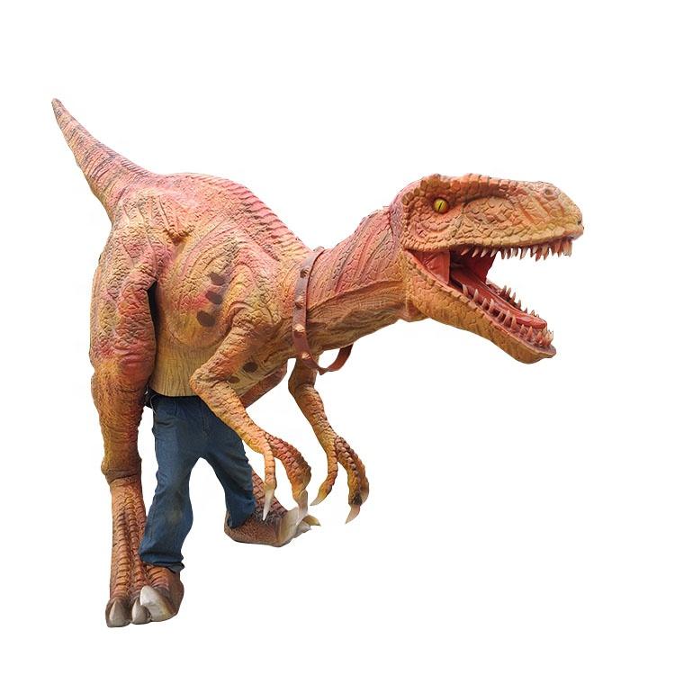 Déguisement de dinosaure réaliste adulte professionnel