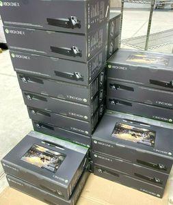 SPEDIZIONE GRATUITA Porta A Porta di Consegna NUOVO Xboxs One X 1TB Nero Video Game Console