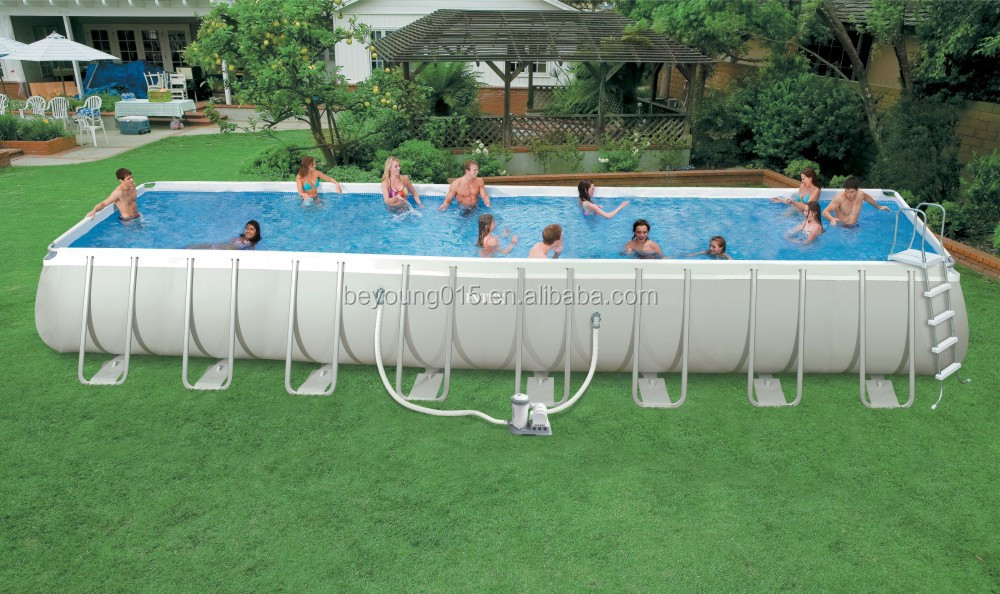 intex above ground pool rectangle. intex largest ultra medal frame swimming pool.jpg above ground pool rectangle x