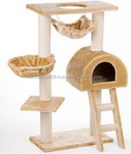 Indoor Large Cat tree,cat house,indoor pet bed hot selling!