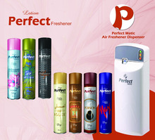 Lotion Perfect Air Freshener with Automatic Dispenser