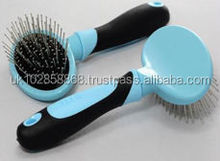 Pet grooming product selling in Germany Dog steel pin brush with CE/ISO