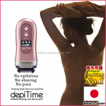 Innovative and Latest smooth away hair removal pads depitime with multiple functions made in Japan