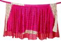 Envolver alrededor de tamaño micro de dos capas falda al por mayor de seda faldas de seda faldas abrigo sari