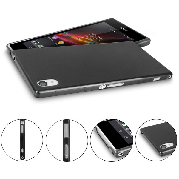 ULTRA THIN BACK COVER FOR SONY XPERIA Z1 - L39H SOFT PP TPU CASE