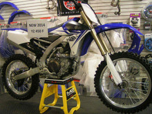 Authentic Original YZ450F Off-Road 4-stroke