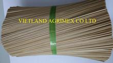 Round bamboo stick for making agarbatties