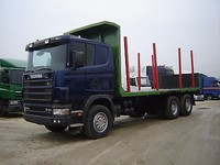 Scania 164 C Timber /Log Carrier Truck - Left Hand Drive - Stock no:11631
