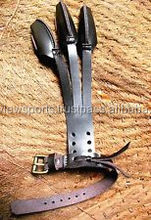 Good Archery Protect Glove 3 Finger For hunting Pull Bow arrow Leather Shooting