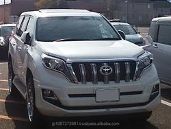 Durable high quality New TOYOTA LAND CRUISER PRADO car auction at reasonable price