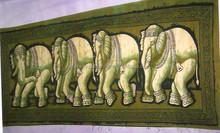 BATIK ELEPHANT WALL HANGINGS NEW