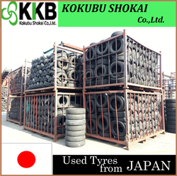 Japanese Quality Used Tires for Passenger Cars
