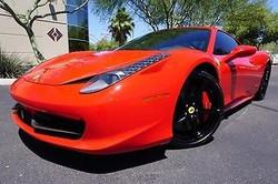 Used 2014 Ferrari 458 2dr Convertible