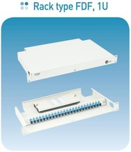 "19"" fiber optic patch panel, wall mount fiber distribution enclosure"
