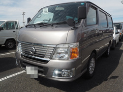 High quality japanese used nissan caravan for irrefrangible accept orders from one car