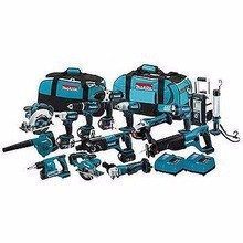 Factory Price For Makita LXT1500 18V 15 Tool LXT Lithium Ion Cordless Power Combo Kit - 18 Volt