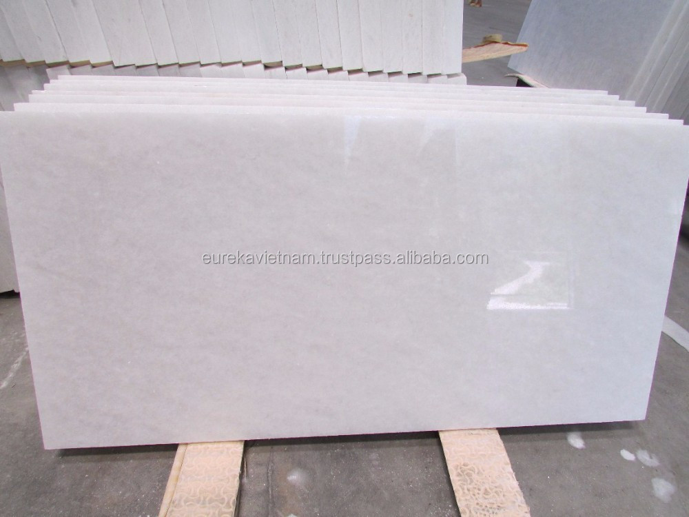 Polished White Marble stone