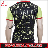 sublimation stretchy lycra polyester custom cheer practice wear
