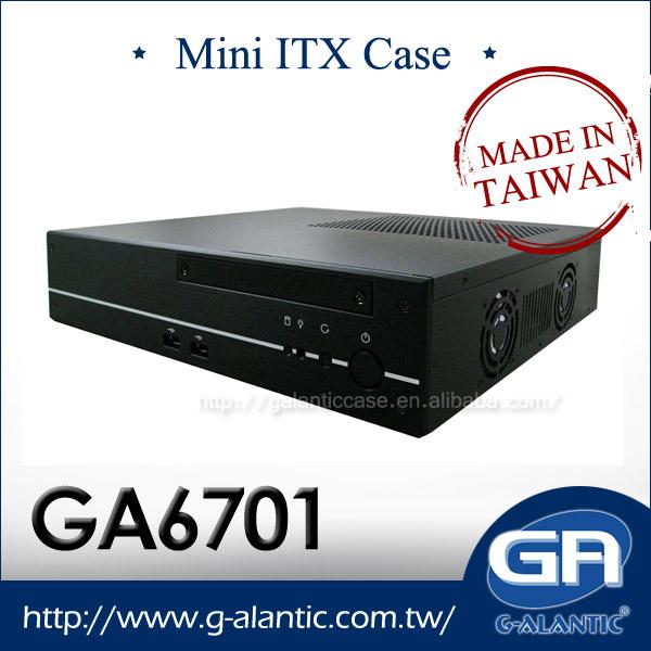 Mini PC Case for POS-GA6701 w/ 1x PCI Slot