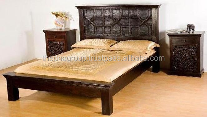 Indian Industrial Wooden Bed Furniture Buy Indian